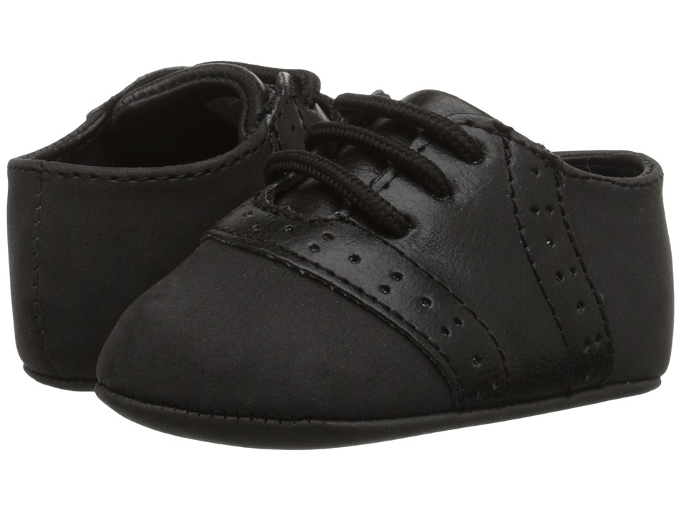 Baby Deer Lace Up Oxford Infant Black 1 Boys Shoes
