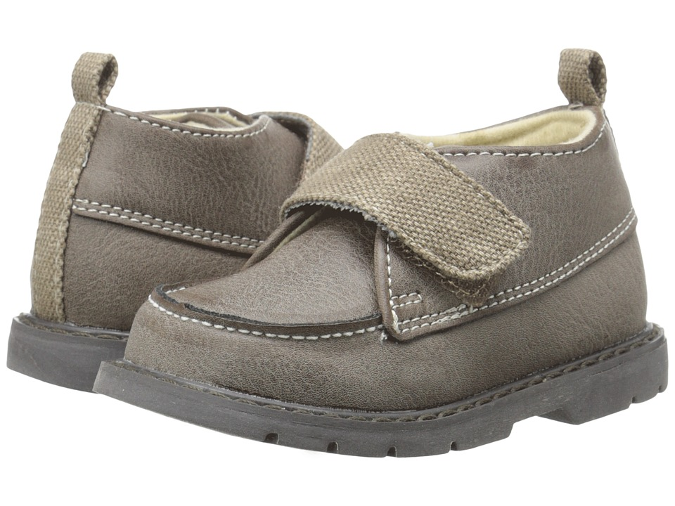 Baby Deer 3/4 High Moc Boot Infant/Toddler Taupe Boys Shoes