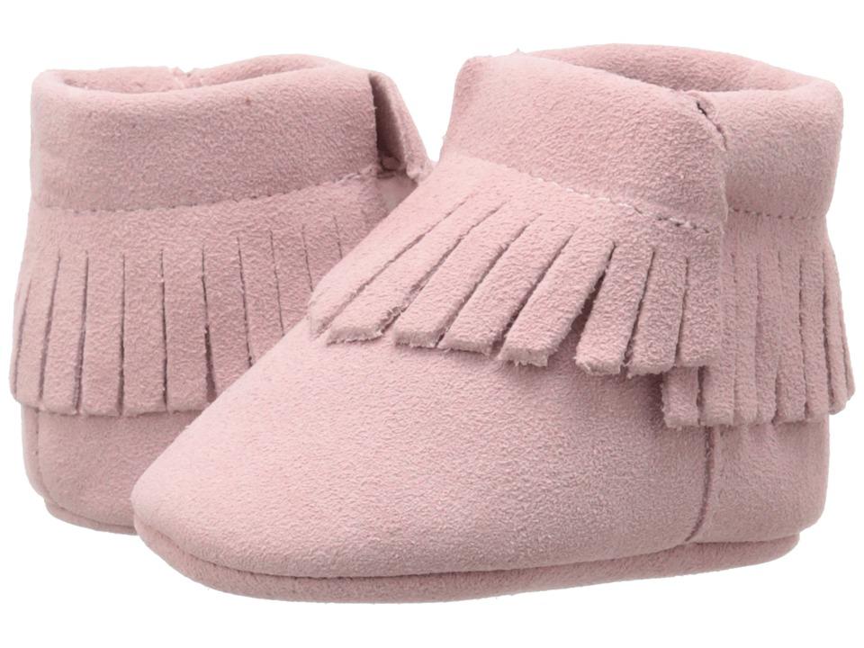 Baby Deer Moccasin Suede Infant Pink Girls Shoes