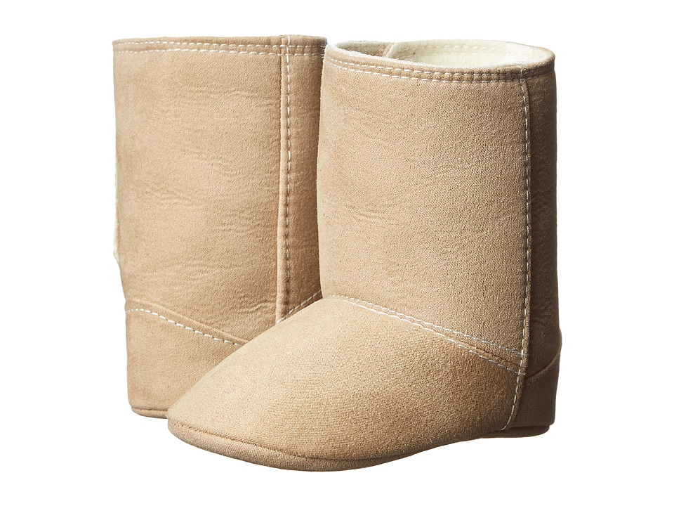 Baby Deer Boot Suede Infant Tan Kids Shoes