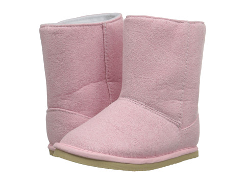 Baby Deer Suede Boot (Infant/Toddler) - Pink
