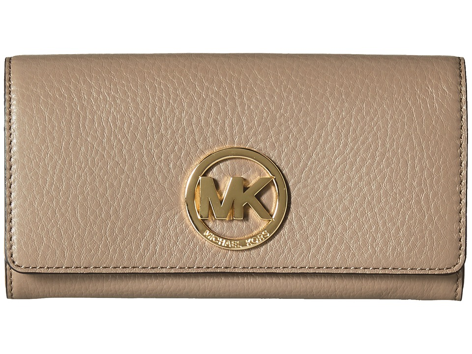 MICHAEL Michael Kors - Fulton Carryall (Dark Dune) Clutch Handbags