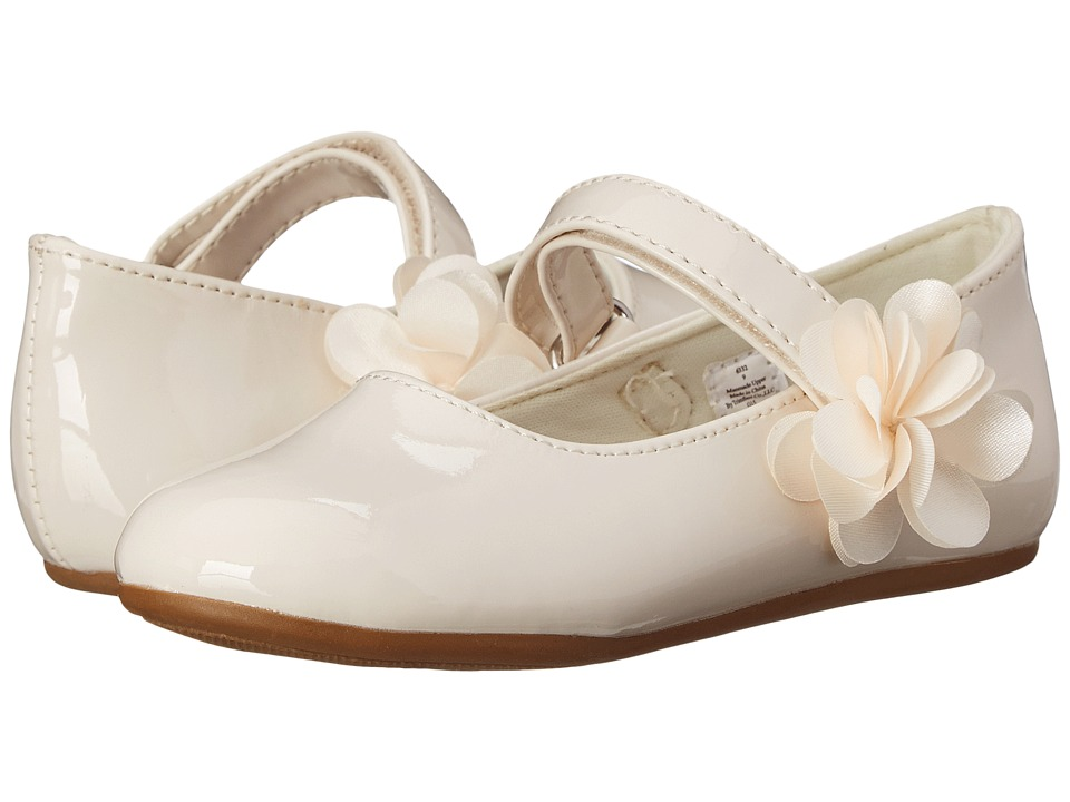 Baby Deer Patent Maryjane Infant/Toddler Ivory Girls Shoes