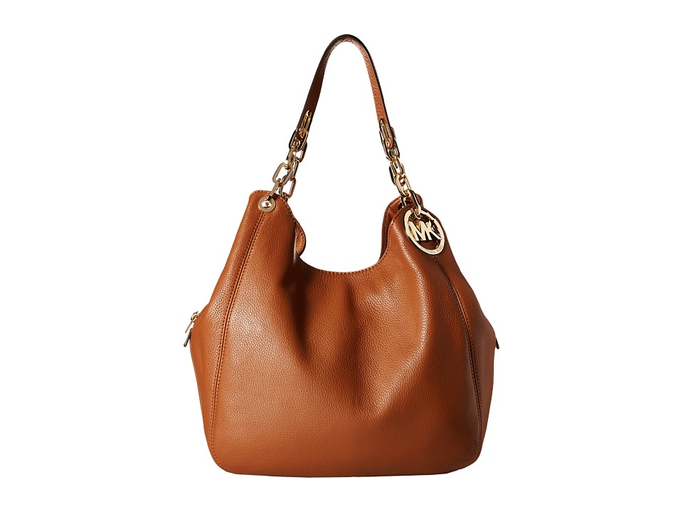 MICHAEL Michael Kors - Fulton Large Shoulder Tote (Luggage) Handbags
