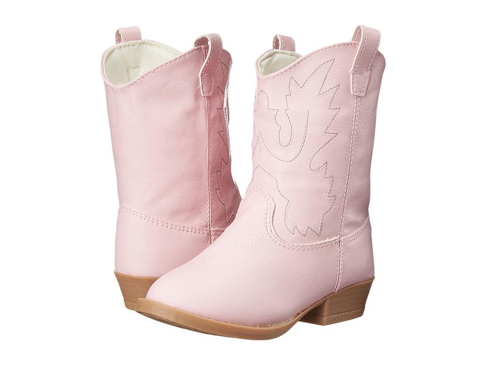 Baby Deer Western Boot Infant/Toddler/Little Kid Pink Cowboy Boots