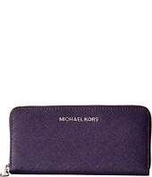 MICHAEL Michael Kors - Jet Set Saffiano Travel ZA Continental