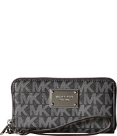 MICHAEL Michael Kors - Jet Set Travel Large Coin Mlt Funt Phone Case