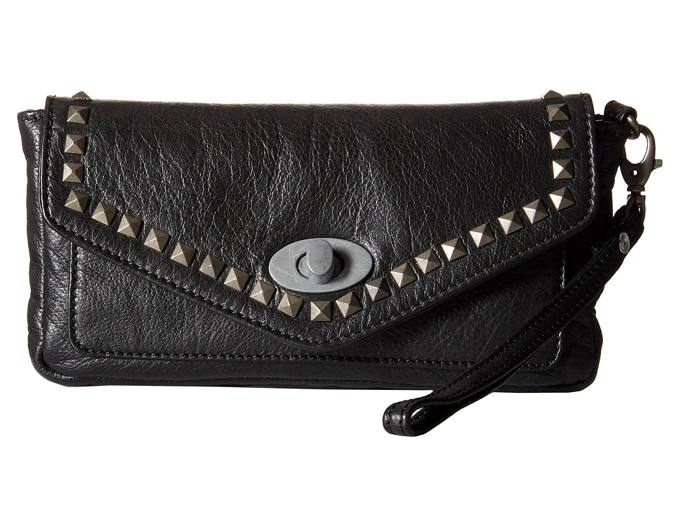 Durango Belle Starr Wallet/Clutch Black Wallet Handbags