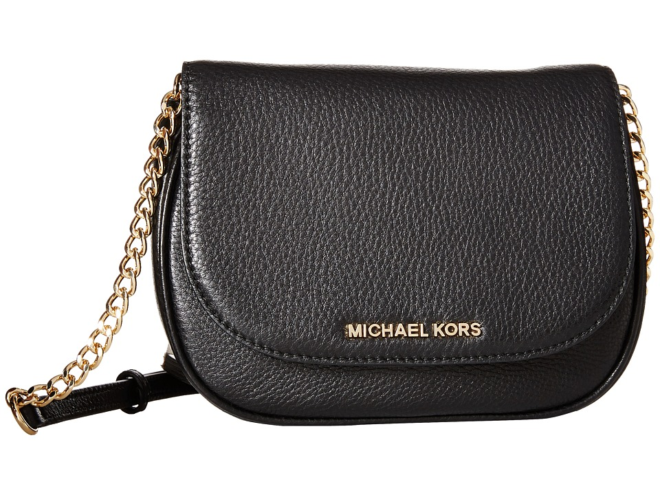 MICHAEL Michael Kors - Bedford Small Crossbody (Black) Cross Body Handbags