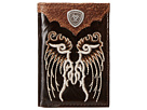 Ariat Shield Concho Embroidered Wing Tri-Fold Wallet