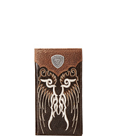 Ariat - Shield Concho Embroidered Wing Rodeo Wallet