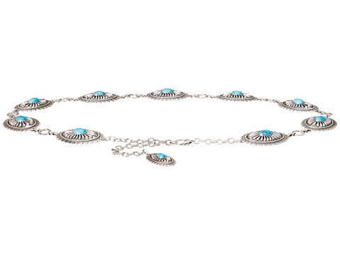 Ariat Turquoise Concho Chain Belt