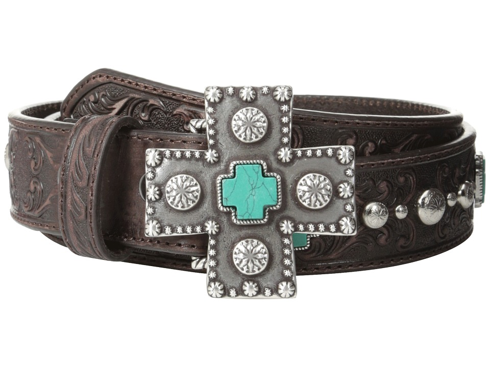 Ariat - Turquoise Cross Studded Belt