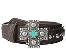 Ariat Turquoise Cross Studded Belt