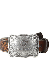 Ariat - Rectangle Rope Edge Shield Buckle Belt