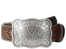 Ariat Rectangle Rope Edge Shield Buckle Belt