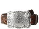 Ariat Rectangle Rope Edge Shield Buckle Belt