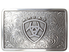 Ariat Rectangle Filagree Shield Buckle