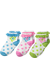 Jefferies Socks - Daisy Eyelet Anklet (Infant/Toddler/Little Kid)