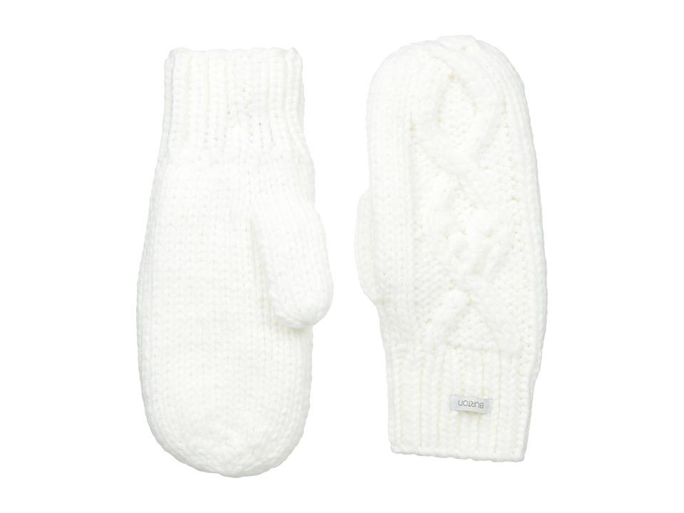 Burton Chloe Mitten (Stout White) Extreme Cold Weather Gloves