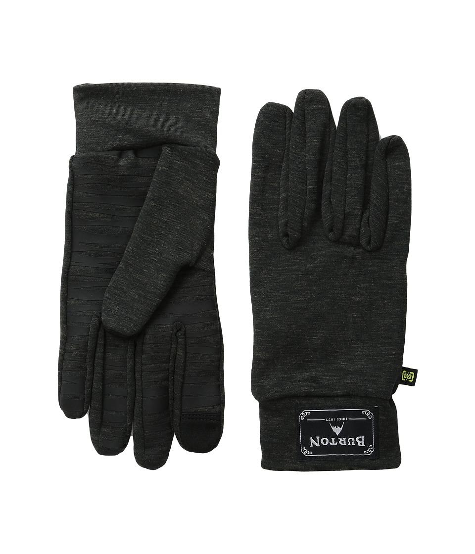 Burton - drirelease Wool Liner (True Black Heather) Liner Gloves