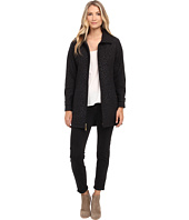 Ellen Tracy - Zip Front Hooded Soft Shell Coat