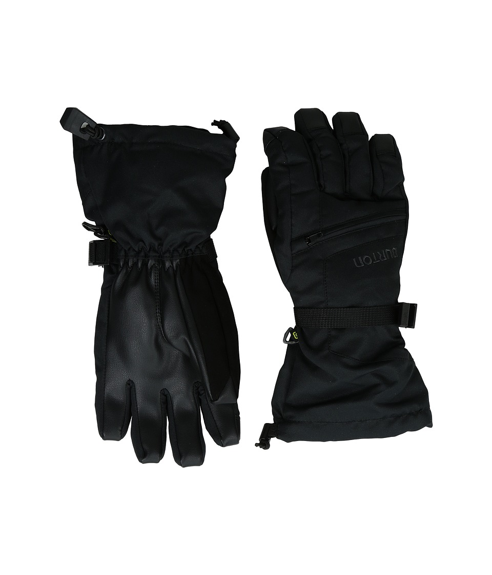Burton - Vent Gloves (Little Kids/Big Kids) (True Black) Extreme Cold Weather Gloves