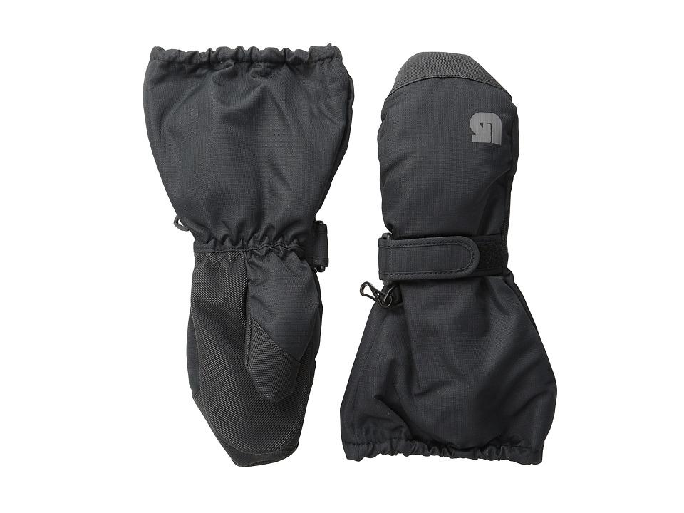 Burton Minishred Heater Mitt (Toddler) (True Black) Extreme Cold Weather Gloves