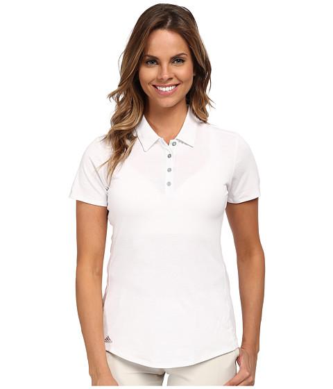 adidas Golf Essentials Heather Short Sleeve Polo