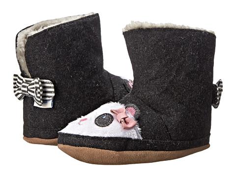 Robeez Panda Bootie Soft Sole (Infant/Toddler) - Black