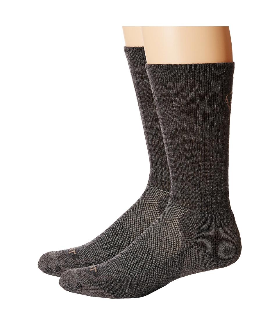 Ariat - Merino Light Hiker 2-Pack Socks