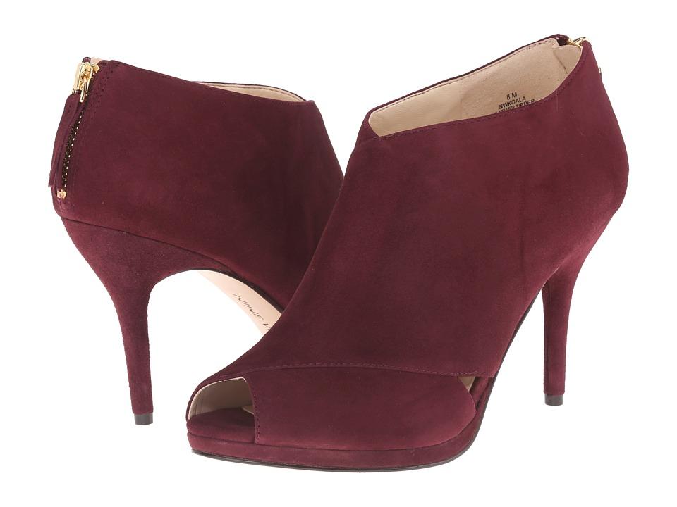 Nine West - Koala (Dark Red Suede) Women's Boots