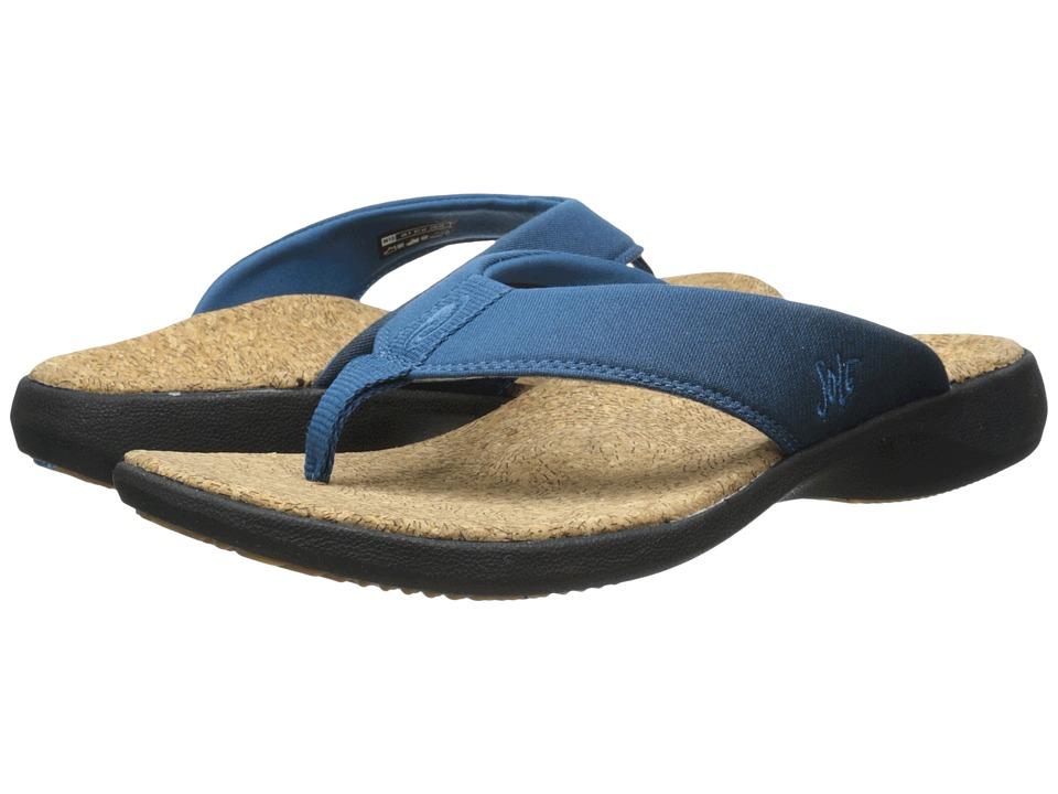 SOLE Cork Flips Alloy Mens Toe Open Shoes
