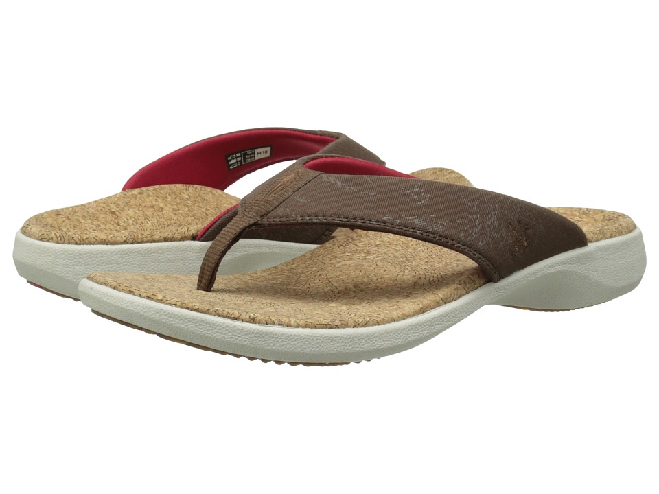 SOLE Cork Flips Hickory Mens Toe Open Shoes