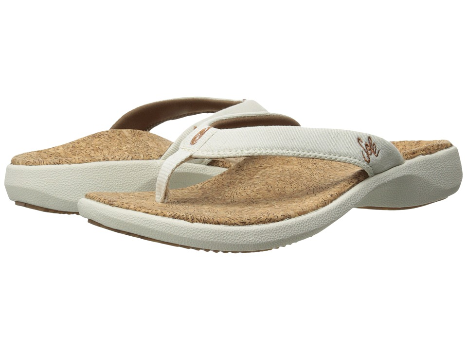 SOLE Cork Flips Vellum Womens Sandals