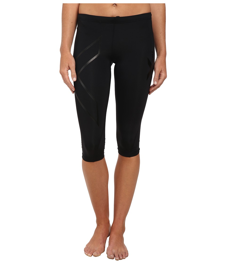 2XU Compression 3/4 Tight Black/Nero Womens Workout