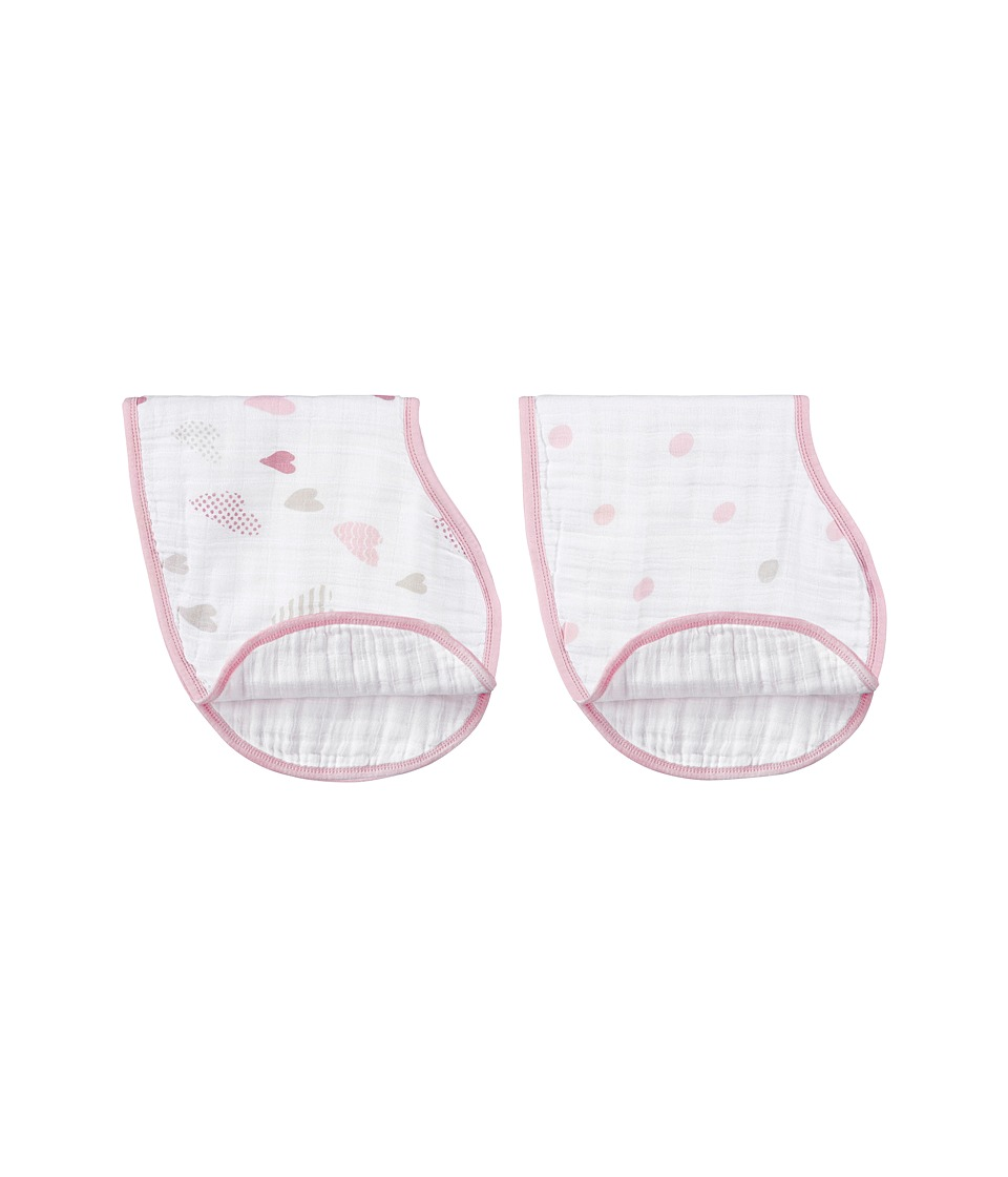 aden + anais - Classic Burpy Bib (Heartbreaker) Accessories Travel