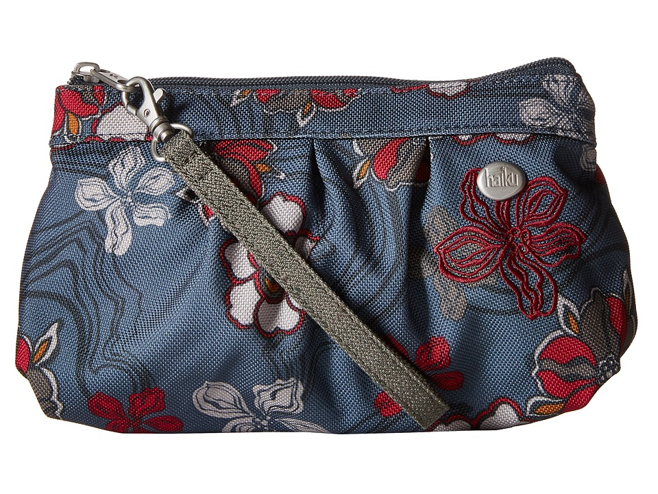 Haiku Breeze River Floral Print Clutch Handbags