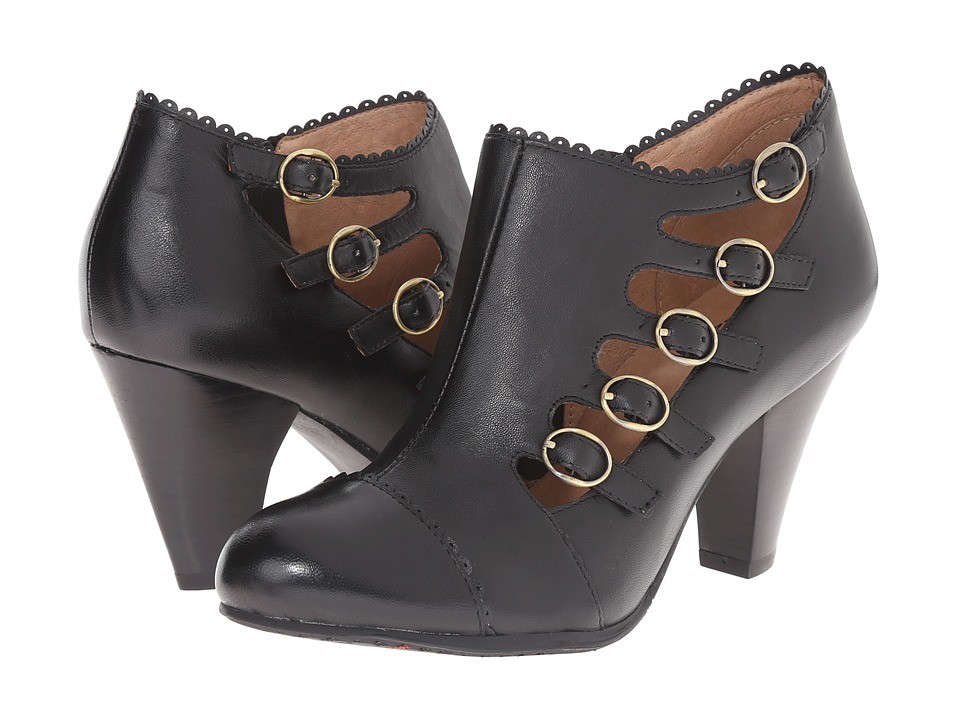 Miz Mooz - Cherita Black Womens Zip Boots $149.95 AT vintagedancer.com