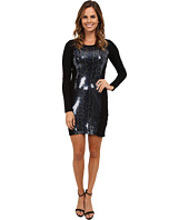 Karen Kane - Snake Sequin Panel Dress