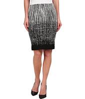 Karen Kane - Ombre Knit Jacquard Skirt