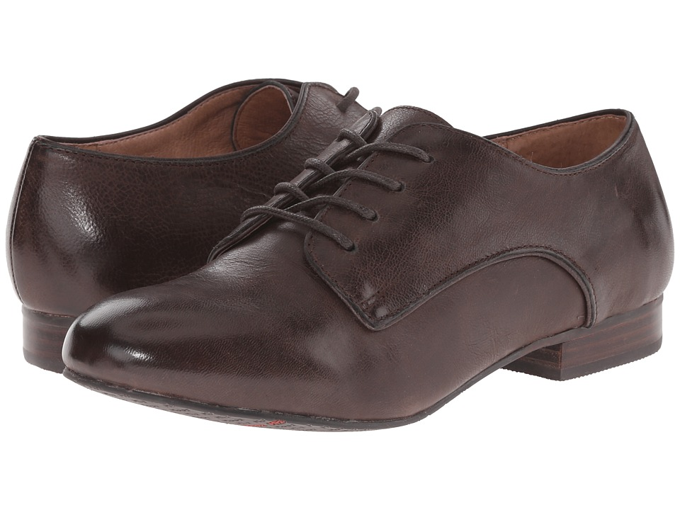 Miz Mooz - Hampton Brown Womens Lace up casual Shoes $129.95 AT vintagedancer.com