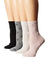 Kate Spade New York - Fluffy Spots Anklet 4-Pack
