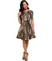 Karen Kane - Leopard Print Scuba Dress