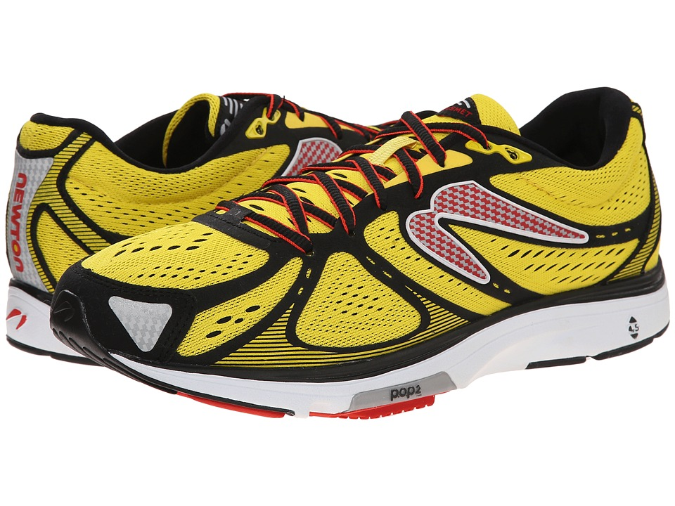 Newton Running Kismet Yellow/Black Mens Running Shoes