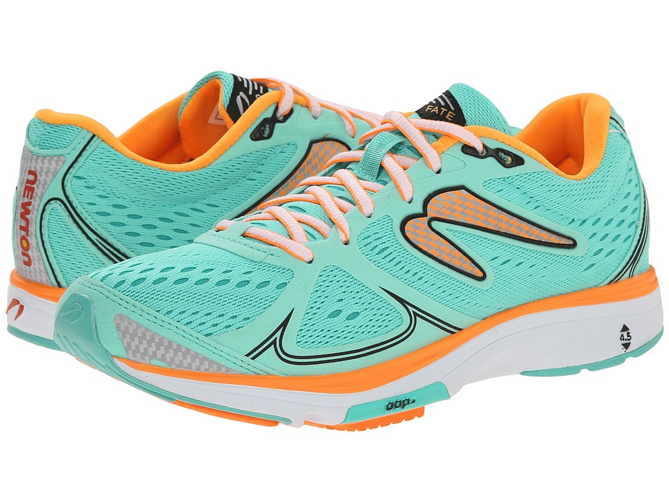 Newton Running Fate Mint/Orange Womens Running Shoes