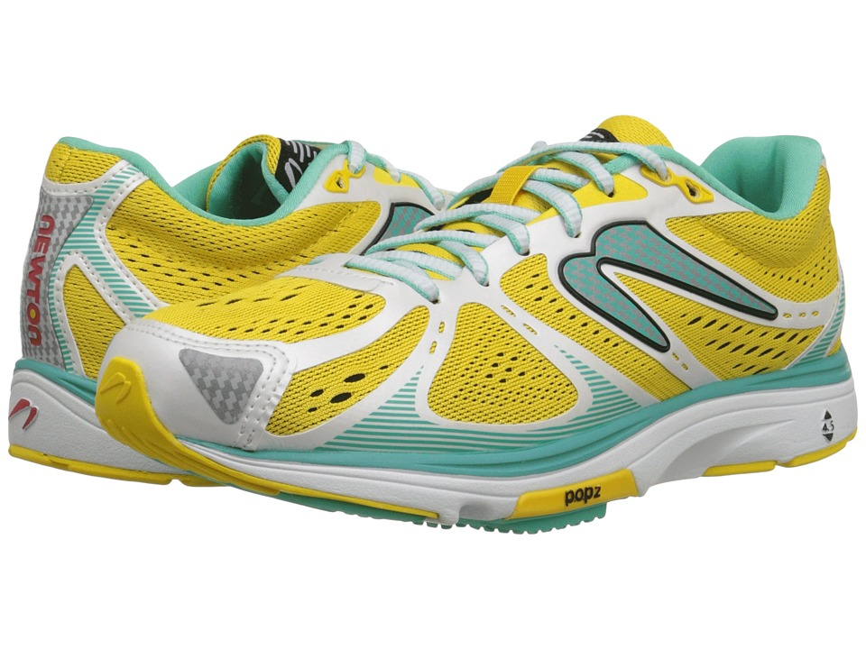 Newton Running Kismet Yellow/Aquamarine Womens Running Shoes
