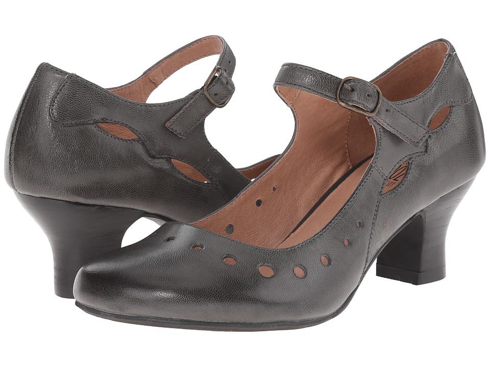 Miz Mooz - Trish Graphite Womens 1-2 inch heel Shoes $129.95 AT vintagedancer.com