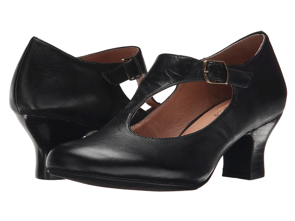Miz Mooz - Trina Black Womens 1-2 inch heel Shoes $129.95 AT vintagedancer.com