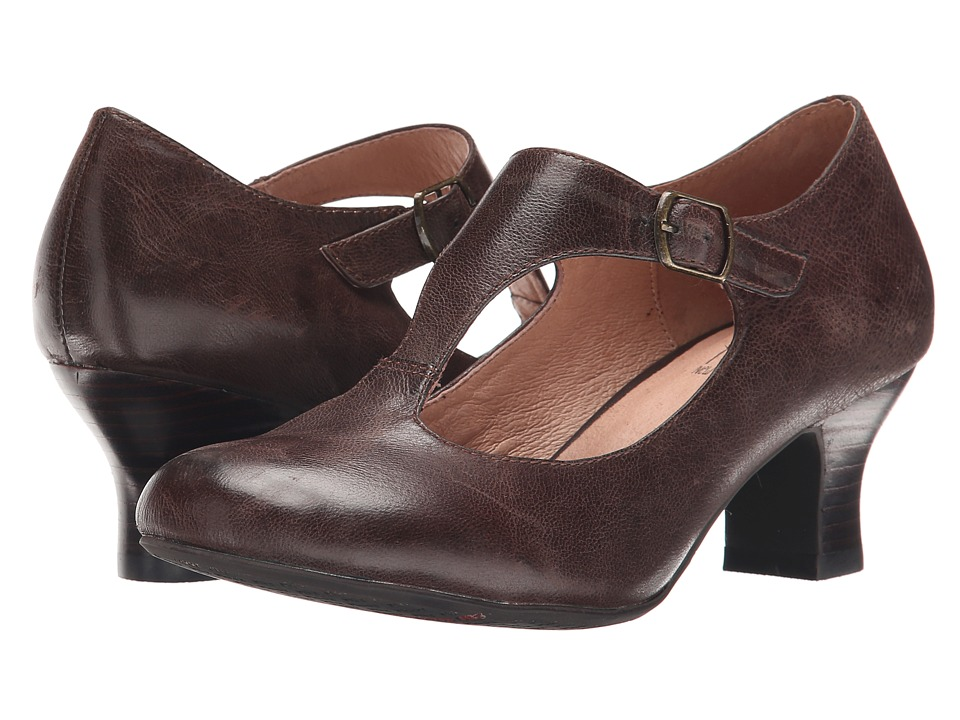 Miz Mooz - Trina Brown Womens 1-2 inch heel Shoes $129.95 AT vintagedancer.com